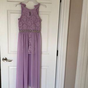 Speechless Lavender romper dress